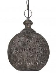lampara oriental de techo en marron-2024B