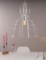 lampara plastico mark-1485CH