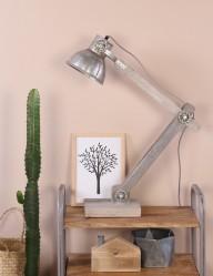lampara plateada-1003ZI