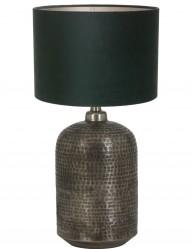 lampara plateada y verde-9973ZI