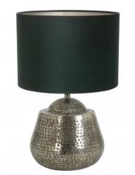 lampara plateada y verde-9976ZI