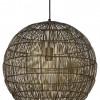 lampara redonde de rejilla bronce-1766BR
