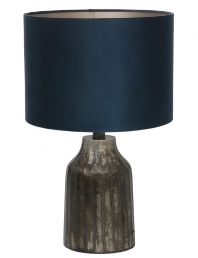 lampara rustica azul-9288ZW
