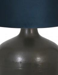 lampara-rustica-azul-y-negra-koradi-9275ZW-1