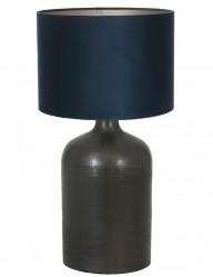 lampara rustica azul y negra koradi-9275ZW