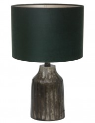 lampara rustica verde-9287ZW
