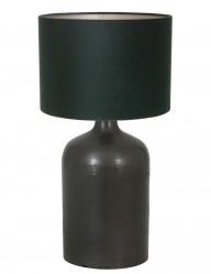 lampara rustica verde y negra-9274ZW