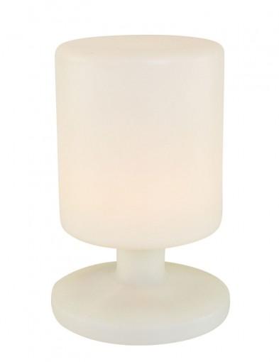 lampara sobremesa blanca-1124W