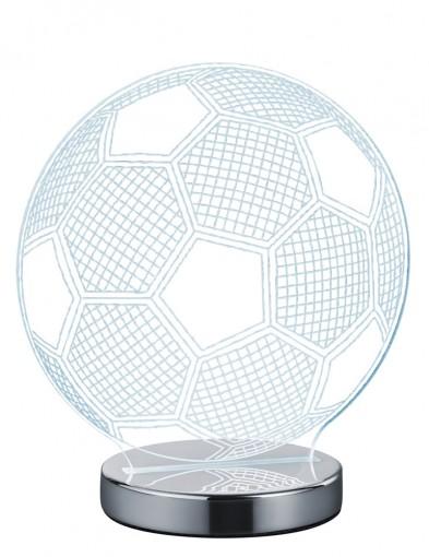 lampara transparente futbol-1846CH