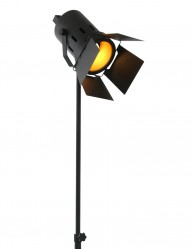 lampara tripode negra-1577ZW