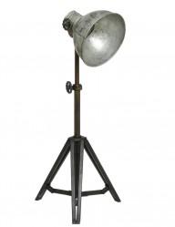 lampara tripode plateada-1931ZI