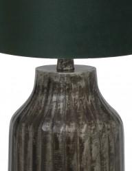 lampara-verde-con-pie-gris-tomi-9290ZW-1