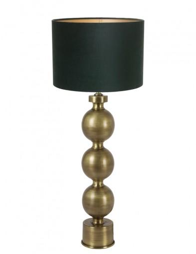 lampara verde de esferas-9172GO