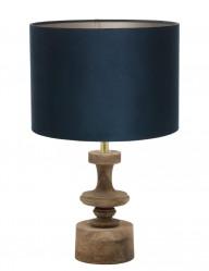 lampara vintage azul-9980B