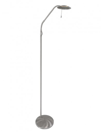 moderna lampara de lectura led acero-7910ST