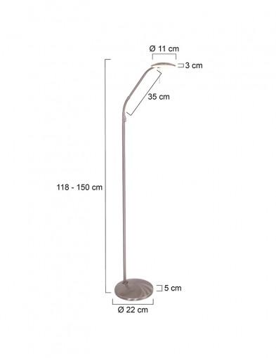 moderna-lampara-de-lectura-led-acero-7910ST-9