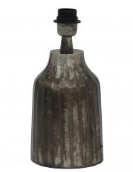 pie de lampara loza gris-2076ZW