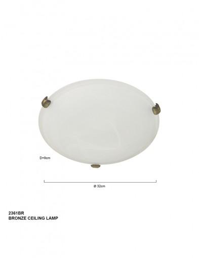 plafon-bronce-2361BR-1