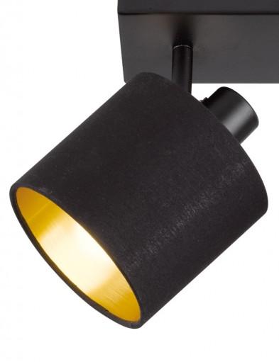 plafon-con-dos-luces-negro-1653ZW-2