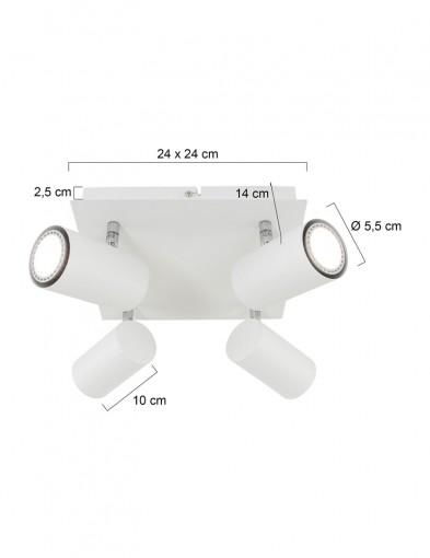 plafon-cuatro-focos-orientable-1078W-5