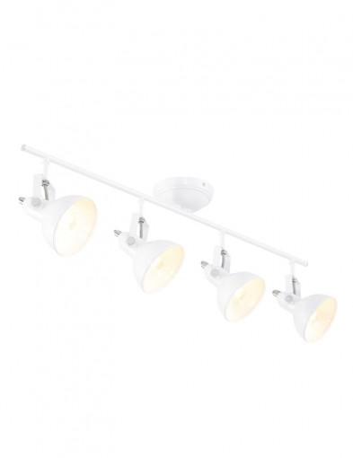 plafon cuatro luces blanco industrial-1110W