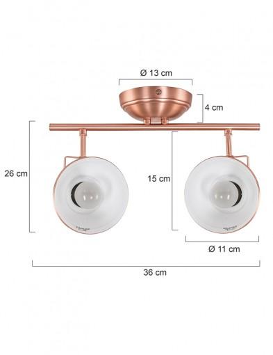 plafon-doble-foco-1108KO-7