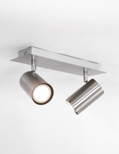 plafon-dos-focos-metalizado-1076ST-2