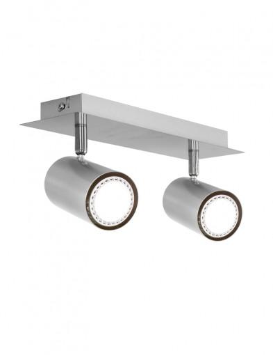 plafon dos focos metalizado-1076ST