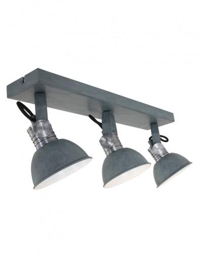 plafon-gris-tres-luces-estilo-industrial-2134GR-1
