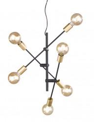 plafon industrial cuatro lamparas-1637ZW