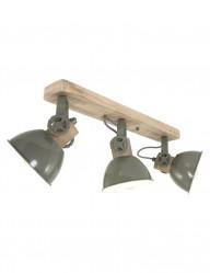 plafon-industrial-verde-de-tres-luces-2133G-1