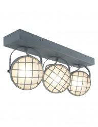 plafon multifuncion tres focos gris-1520GR