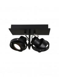 plafon-negro-dos-focos-7550ZW-1
