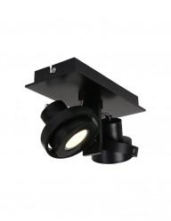 plafon negro dos focos-7550ZW