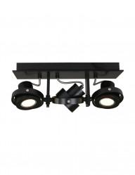 plafon negro tres focos-7551ZW