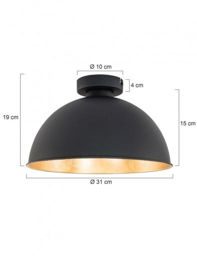 plafon-negro-y-dorado-1113ZW-4