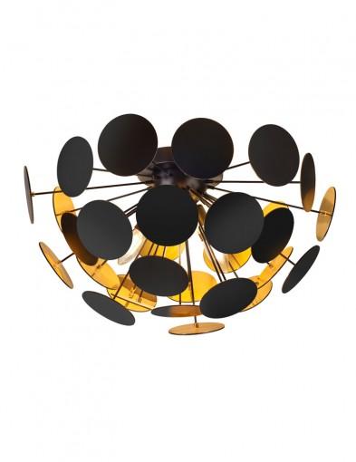 plafon negro y dorado-1605ZW