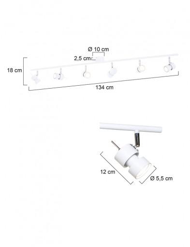 plafon-seis-focos-led-7906W-5