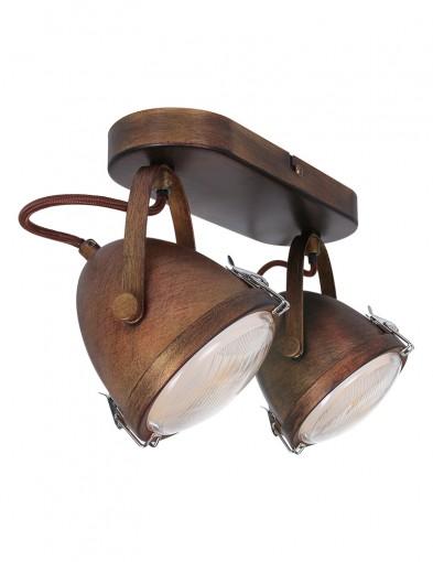 plafon vintage dos luces-1312B