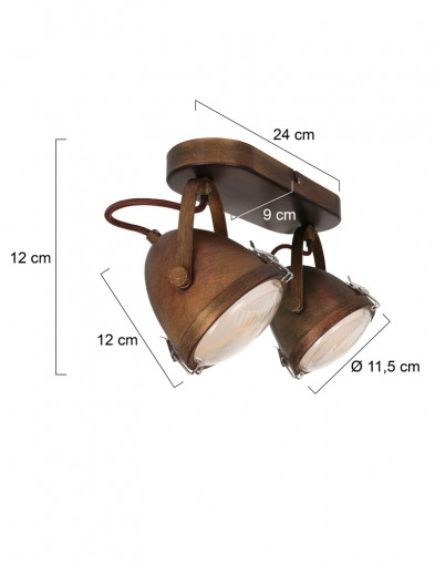 plafon-vintage-dos-luces-1312B-5