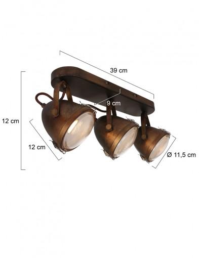 plafon-vintage-tres-luces-1314B-5