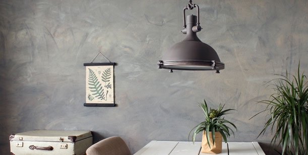 lampara-de-techo-vintage-gris