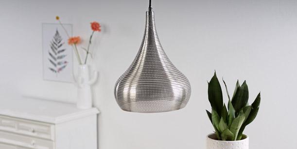 lamparas arabes acero