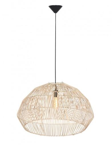 lampara de techo ratan 2095BE-1