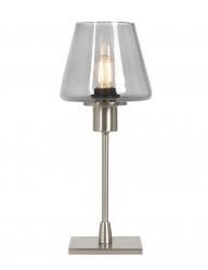Lámpara de mesa táctil de cristal ahumado-2424ST