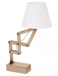Lámpara de tijera en madera-2425BE