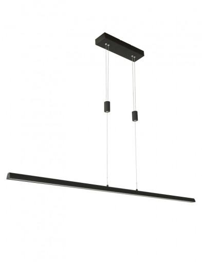 Lámpara de comedor negra-2433ZW
