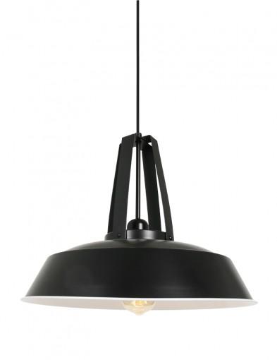Lámpara de techo negra Mexlite James-2481ZW