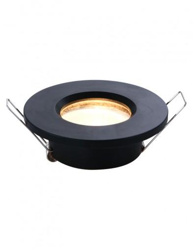 Foco empotrable negro-2488ZW
