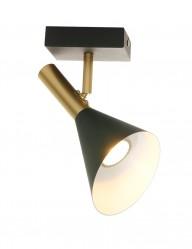 Aplique negro y dorado-2491ZW